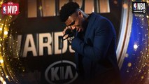 Giannis Antetokounmpo Gets EMOTIONAL During Kia MVP Speech - 2019 NBA Awards