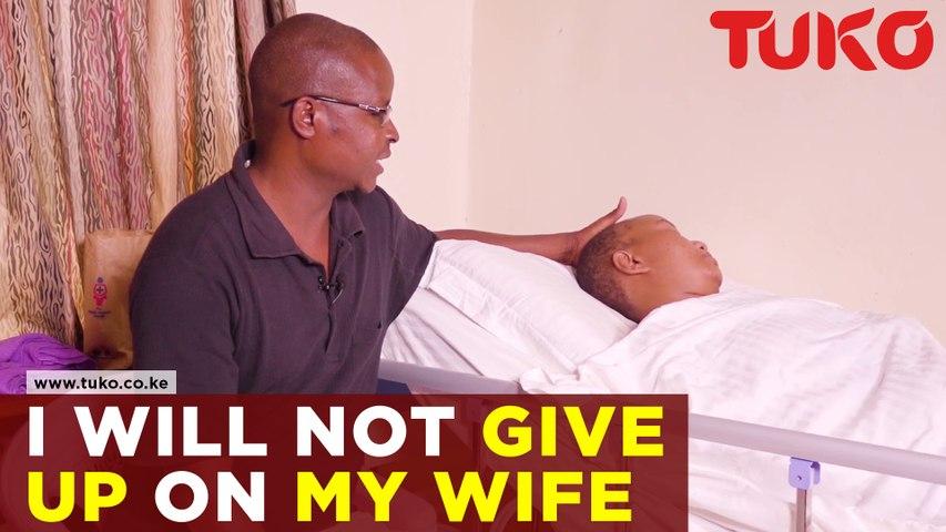 I will never give up on my wife - Erastus Ofula