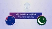 New Zealand v Pakistan H2H