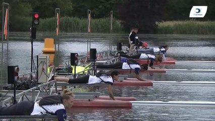 Championnat de France Sénior Bateaux longs Bourges 2019 - Finale du deux de couple femmes-FS2X