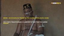 Bénin – accession au trône Agoli-Agbo: des chefs traditionnels clarifient et mettent en garde