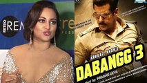 Sonakshi Sinha breaks silence on love triangle in Salman Khan's Dabangg 3; Watch video | FilmiBeat