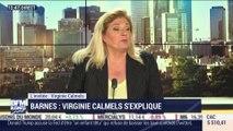 """""""Je n'ai pas été révoquée, j'ai démissionné, et je porte plainte contre Barnes pour diffamation"""", Virginie Carmels - 25/06"""