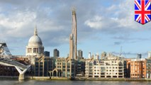 London may soon get a new wooden skyscraper