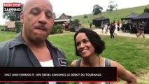 Fast and Furious 9 : Vin Diesel annonce le début du tournage (Vidéo)
