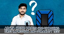 Adata HD710 Pro 1TB HDD Unboxing, First Impression And Durability Test