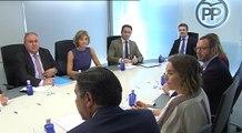 Comité de Dirección del PP, presidido por Pablo Casado