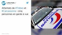 Attentats de Trèbes et Carcassonne. Cinq gardes à vue dans l'enquête sur la fourniture de l'arme