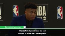 Kobe Bryant motivated me to become MVP - Giannis