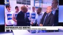 Separated at birth? The similarities between Boris Johnson and Donald Trump
