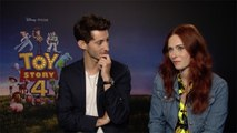 Toy Story 4 - Interview d'Audrey Fleurot et Pierre Niney