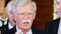 Bolton To Iran: 'Walk Through That Open Door'