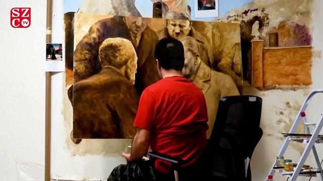 İmamoğlu'nun çizdirdiği o tablonun hikayesi...