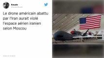 Des éléments du drone américain abattu par l'Iran récupérés par des pêcheurs