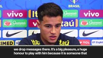 (Subtitled) Neymar and Messi in Barcelona WhatsApp group discussed by Coutinho