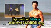 Tiger pulls off MJ steps in Ranveer's 'Khalibali' song