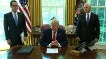 Trump announces sanctions against Iran's supreme leader