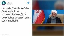 Accord sur le nucléaire : L'Iran annonce qu'il rompra deux de ses engagements le 7 juillet