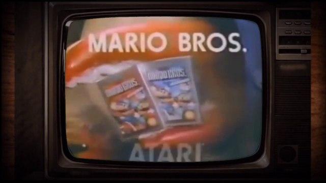 Atari 2600 Mario Bros. TV Spot (1983)