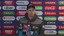 New Zealand's Mitchell Santner pre Pakistan