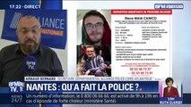 """Nantes: le secrétaire départemental Alliance Police affirme qu'""""à aucun moment, il nous est signalé qu'il manque une personne"""""""