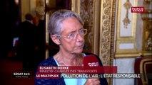 Lutte contre la pollution atmosphérique : « On a bien conscience de la nécessité de faire plus » (Borne)