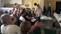 Arrentès-de-Corcieux : passe d'armes entre le maire et Frédéric Rosenthal, représentant de la DDSCPP au sujet du projet d'installation d'un élevage de 12000 poules