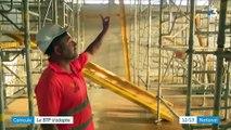 Canicule : temps de travail adapté sur les chantiers