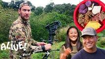 Brad Hunts Boar in Hawaii