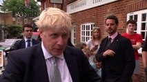 Boris: We've got to leave by October 31