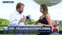 Paris: Circulation restreinte demain (1/2)