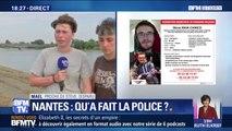 """Nantes: le jeune homme disparu dans la Loire """"n'était pas du tout dans l'optique d'agresser les policiers"""" selon un de ses proches"""