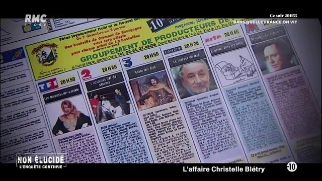 Non élucidé - L'enquête continue 1x02- L'affaire Christelle Blétry