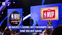 Milwaukee's Giannis Antetokounmpo Takes Home NBA MVP Award