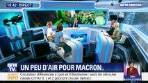 Sondages: un peu d'air pour Emmanuel Macron