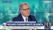 """Richard Ferrand: """"Aussi longtemps qu'Emmanuel Macron sera Président, ce sera oui à la PMA et non à la GPA"""""""