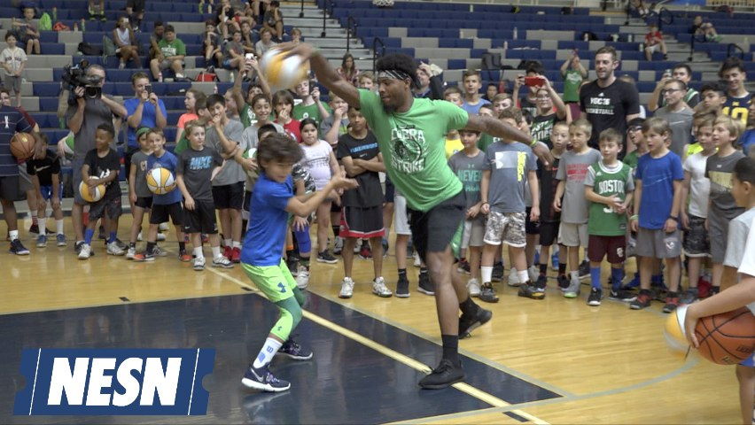 Marcus Smart Swats Camper, Breaks His Ankles Before Layup