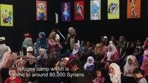 Cinema Zaatari returns joy to Syrian refugee children in Jordan
