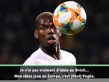 """Lyon - Jean Lucas : """"Mes idoles ? Mon papa et Pogba !"""""""