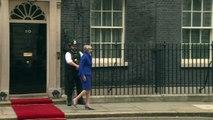 Theresa May welcomes Iraqi president