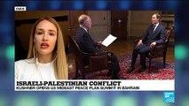 Israeli-Palestinian Conflict : Kushner opens us Mideast peace plan summit in Bahrain