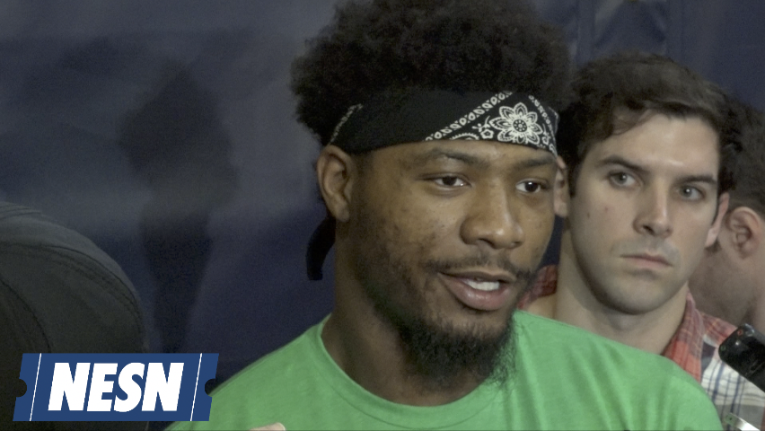 Marcus Smart On Kyrie Irving, Al Horford Leaving The Celtics