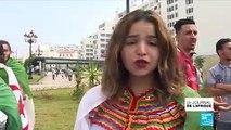 Manifestation en Algérie : les étudiants dénoncent l'interdiction du drapeau berbère