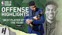 Giannis Antetokounmpo BEST MVP Highlights from 2018-19 NBA Season- BEST PLAYER IN THE WORLD? Part 2