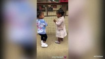 Stormi And True Hugging And Dancing At The Petting Zoo Might Just Be The Highlight Of 2019
