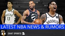 NBA Rumors: Kawhi Leonard, Teams Interested In D'Angelo Russell - Bucks Letting Malcolm Brogdon Go?