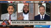 FIRST TAKE - Stephen A. reacts: Giannis Antetokounmpo wins a MVP (3rd-youngest MVP last 40 seasons)