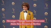 'Stranger Things' Gaten Matarazzo Nabs New Project at Netflix