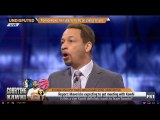 Chris Broussard - Shannon DEBATE Is this a sign Kawhi definitely wants to leave Toronto?