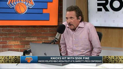 The Jim Rome Show: The NBA hit Knicks with a $50,000 fine